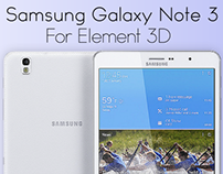Samsung Galaxy Note 3 for Video Copilot's Element 3D