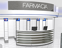 Store Concept for pharmacy