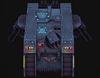 Space wolf Land raider [Old school]