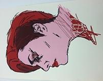 Self Portrait : Screen Print