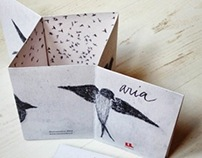 ARIA | little silent book (self published)