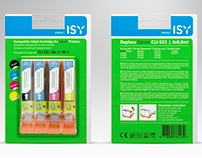 Package design for ISY cartridges