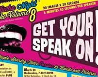 Poster Design - PechaKucha Night Roanoke 8, March 2014