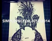 Simplevector Sketch 2012 - 2014
