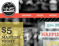 445 Martini Lounge Prototype Website