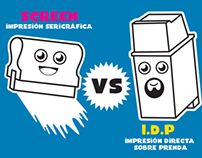 Screen Print VS IDP Print
