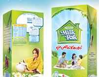 Milk Pak packaging 2012-13