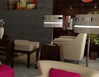 Ladies Lounge interior