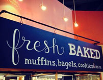 Whole Foods Market Bakery Decor Chalks