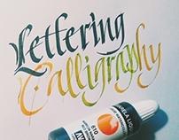 Calligraphy practice #1