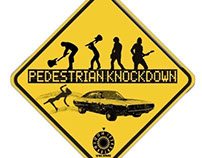 Pedestrian Knockdown the band