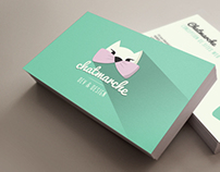 Chatmarche, identity and business card
