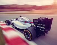 Williams 2014 F1 Car
