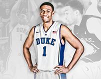 2014 Duke Basketball - Jabari Parker Infographic