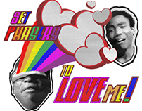 """Tshirt Design - """"Set Phasers to Love Me,"""" March 2014"""