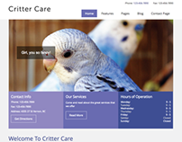 Critter Care Theme for WordPress
