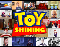 Toy Shining (Toy Story / The Shining  iPad Paintings)