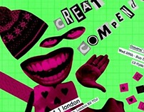 Creative Compendium Exhibition Flyer