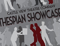 Thespian Showcase Poster