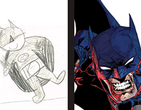 Then & Now: Superheros