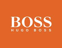 Don't Be a Square! - Hugo Boss Orange