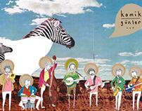 Illustrations for the band, Komik Günler