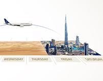 Saudia - Flights Frequency Calendar