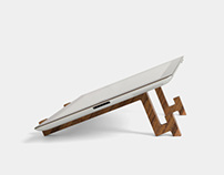 nubüro | iPad Wooden Stand