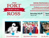 Fort Ross Festival Poster