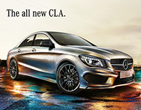 Mercedes Benz - The all new CLA.