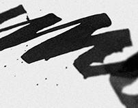 'Diumenge' - Colapen 1st steps, handmade lettering