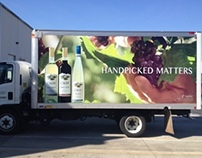 Cavit Wines Truck Wrap