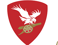 Arsenal Fan Club from Budapest (Brand Identity)