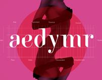 Luxurious font