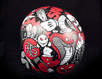 Custom Helmet Illustration