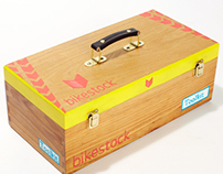 Bikestock NYC - Handpainted toolkit