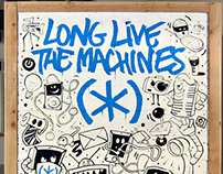 """Speck Products """"Long Live The Machines"""""""