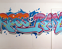 Ross & Ray Apartment Mural