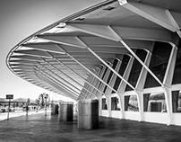 Airport Bilbao Spain