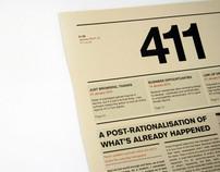 The 411 – Art & Design Newspaper