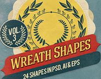 Wreath Shapes Vol.3
