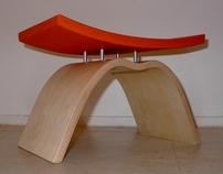 Bent Plywood Stool