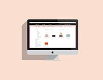 Web design-online shop