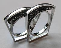 Chef Wedding Rings/Pendants