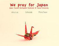Japan Fundraiser Website