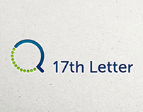 17th Letter Branding and Website