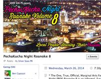 Facebook Graphics - PechaKucha RKE Vol 8, March 2014
