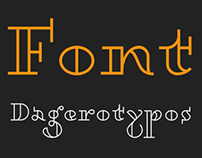 Free font Dagerotypos