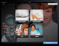 PremiataGroup iPad App