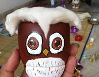 Owl Pigibank - Plastic Bottles Explorations